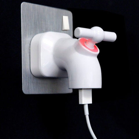 Power Tap Faucet USB Charger