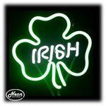 Shamrock Neon Sculpture Light