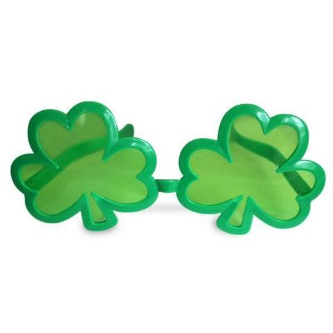 Adult Jumbo Shamrock Sunglasses