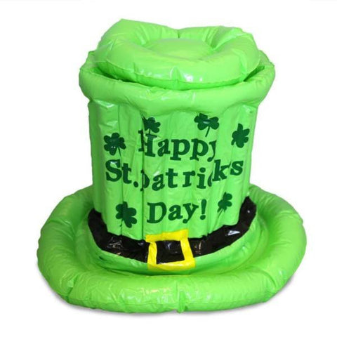 Inflatable St. Patricks Day cooler