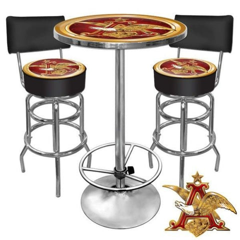 Ultimate A and Eagle Bar Stools and Table Set