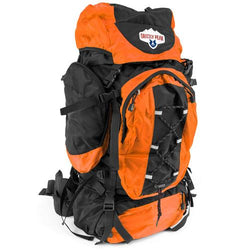 70L Internal Frame Backpack, Orange