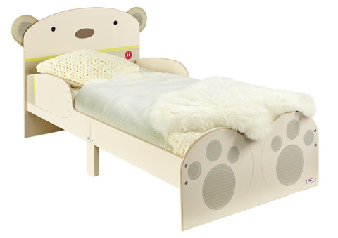 Bear Hug Toddler Bed Worlds Apart Kids, Fits Cot Mattress 140cm x 69cm - Childhood Home - kids bedrooms & play spaces
