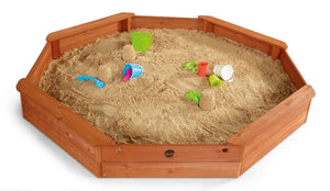 Plum Large Octagonal Sandpit - Childhood Home - kids bedrooms & play spaces