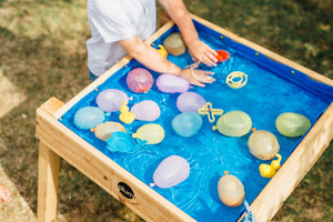 Plum Build and Splash Wooden Sand and Water Table - Childhood Home - kids bedrooms & play spaces