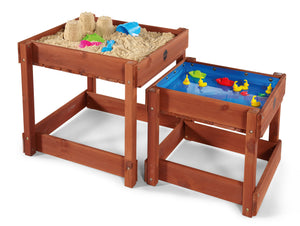 Plum Sandy Bay Sand and Water Tables Set with Protective Cover - Childhood Home - kids bedrooms & play spaces