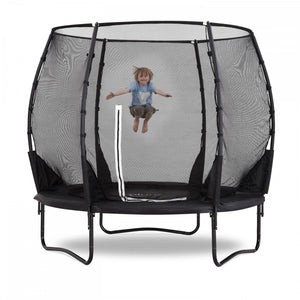 Plum 2.43 Metres (8ft) Magnitude Premium Trampoline with Safety Enclosure - Childhood Home - kids bedrooms & play spaces