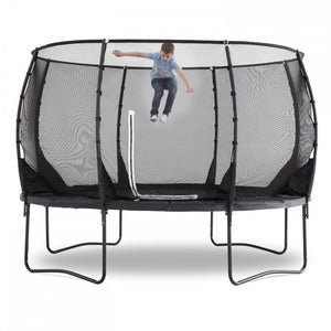 Plum 3.65 Metres (12ft) Magnitude Premium Trampoline with Safety Enclosure - Childhood Home - kids bedrooms & play spaces