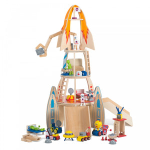 Plum Super Space Rocket - Childhood Home - kids bedrooms & play spaces