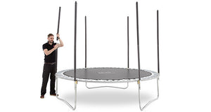 Plum 2.43 Metres (8ft) Space Zone V3 Trampoline with Enclosure - Childhood Home - kids bedrooms & play spaces