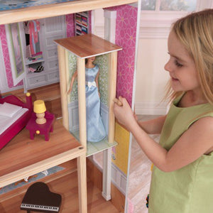 Majestic Mansion Dollhouse - Childhood Home - kids bedrooms & play spaces