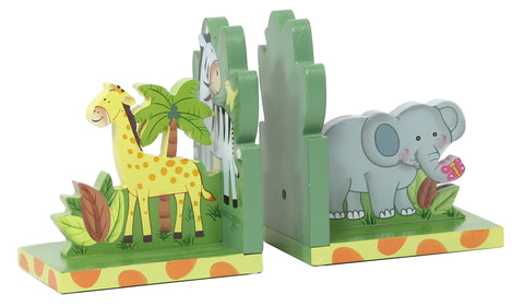 Fantasy Fields Sunny Safari Book Ends - Childhood Home - kids bedrooms & play spaces