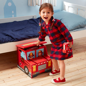 Lil Fire Fighters Step Stool - Childhood Home - kids bedrooms & play spaces