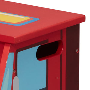 Fantasy Fields - Lil Fire Fighters Step Stool - Childhood Home - kids bedrooms & play spaces