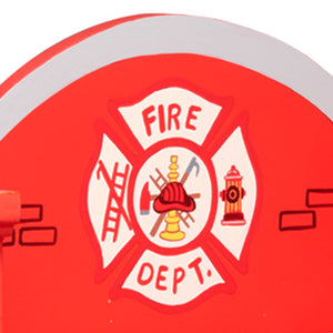 Fantasy Fields - Lil Fire Fighters Bookshelf - Childhood Home - kids bedrooms & play spaces