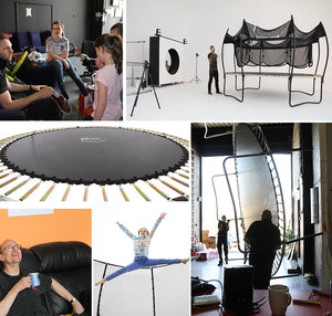 Plum 4.26 Metres (14ft) Magnitude Premium Trampoline with Safety Enclosure - Childhood Home - kids bedrooms & play spaces