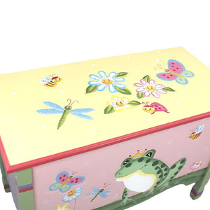 Magic Garden Toy Box - Childhood Home - kids bedrooms & play spaces