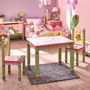 Fantasy Fields Magic Garden Table & 2 Chairs Set - Childhood Home - kids bedrooms & play spaces