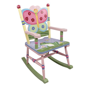 """Fantasy Fields-Magic Garden Rocking Chair"" - Childhood Home - kids bedrooms & play spaces"