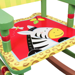 """Fantasy Fields-Sunny Safari Rocking Chair"" - Childhood Home - kids bedrooms & play spaces"