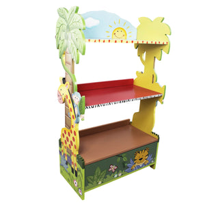 """Fantasy Fields-Sunny Safari Bookcase/Shelf"" - Childhood Home - kids bedrooms & play spaces"