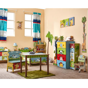 """Fantasy Fields-Sunny Safari Toy Box"" - Childhood Home - kids bedrooms & play spaces"