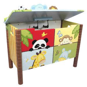 Fantasy Fields-Sunny Safari Toy Box - Childhood Home - kids bedrooms & play spaces
