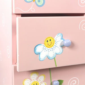 """Fantasy Fields Magic Garden 7 Drawer Cabinet"" - Childhood Home - kids bedrooms & play spaces"