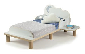 StarBright Toddler Bed with Nightlight and Star Projector - Childhood Home - kids bedrooms & play spaces