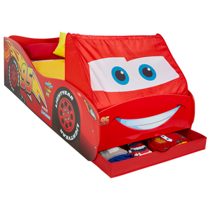 Lightning McQueen Cars Single Bed with Storage - Childhood Home - kids bedrooms & play spaces