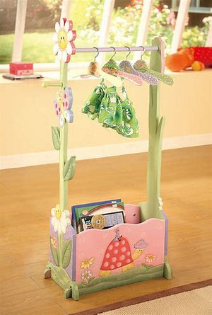 """Fantasy Fields Magic Garden Clothing Rack incl. 4 hangers"" - Childhood Home - kids bedrooms & play spaces"
