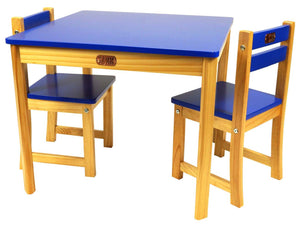 Little Boss Table and Chairs Set, Square - Childhood Home - kids bedrooms & play spaces
