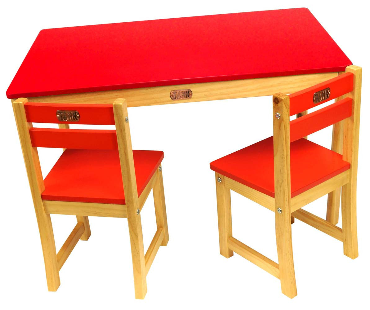 Little Boss Table And Chairs Set Rectangle