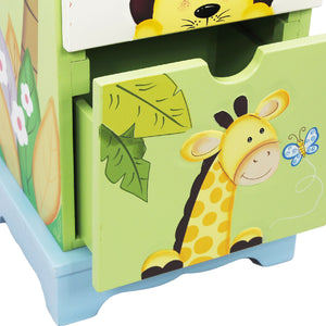 Sunny Safari 5 Drawer Cabinet - Childhood Home - kids bedrooms & play spaces