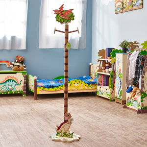 """Fantasy Fields- Dinosaur Coat Stand"" - Childhood Home - kids bedrooms & play spaces"