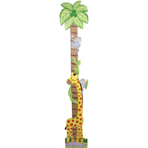 """Fantasy Fields-Sunny Safari Growth Chart"" - Childhood Home - kids bedrooms & play spaces"