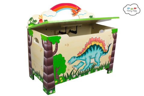 Fantasy Fields-Dinosaur Toy Box - Childhood Home - kids bedrooms & play spaces