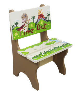 """Fantasy Fields-Dinosaur Timeout Chair"" - Childhood Home - kids bedrooms & play spaces"