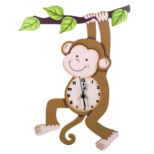 Sunny Safari Clock - Childhood Home - kids bedrooms & play spaces