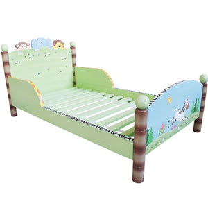 Sunny Safari Toddlers Bed - Childhood Home - kids bedrooms & play spaces