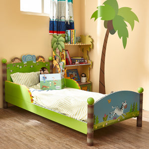 """Fantasy Fields-Sunny Safari Toddler Bed"" - Childhood Home - kids bedrooms & play spaces"