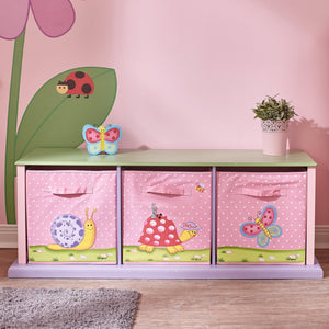 """Fantasy Fields-Magic Garden 3 Bag Storage Cabinet"" - Childhood Home - kids bedrooms & play spaces"