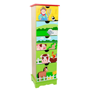 """Fantasy Fields-Happy Farm 5 Drawer Cabinet"" - Childhood Home - kids bedrooms & play spaces"