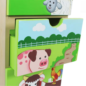 Fantasy Fields-Happy Farm 5 Drawer Cabinet - Childhood Home - kids bedrooms & play spaces