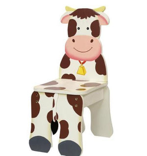 Fantasy Fields-Happy Farm Kids Chair Cow - Childhood Home - kids bedrooms & play spaces