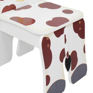 """Fantasy Fields-Happy Farm Kids Chair Cow"" - Childhood Home - kids bedrooms & play spaces"