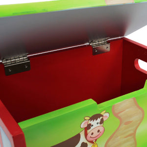 """Fantasy Fields-Happy Farm Step Stool"" - Childhood Home - kids bedrooms & play spaces"