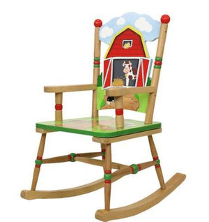 Happy Farm Rocking Chair - Childhood Home - kids bedrooms & play spaces