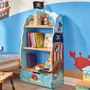 Fantasy Fields-Pirate Island Bookcase - Childhood Home - kids bedrooms & play spaces