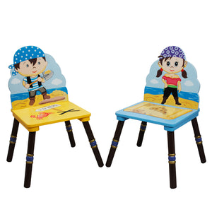 Fantasy Fields-Pirate Island 2 Chair Set B - Childhood Home - kids bedrooms & play spaces